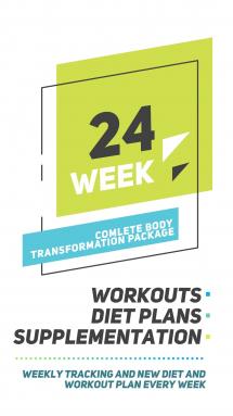 24 Weeks Transformation Package</br>