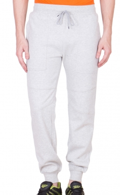 Grey Mighty Basic Track Pants/ Joggers</br>