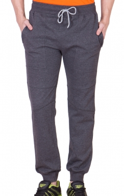 Dark Grey Mighty Basic Track Pants/ Joggers</br>