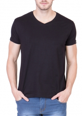Black Mighty Basic Performance T-Shirt</br>