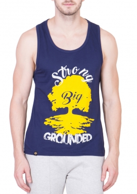 Big Strong Tree Royal Blue Performance Tank Top</br>