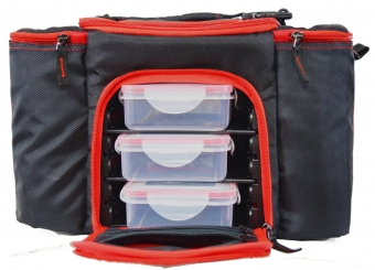 Meal Bag with Ice Packs (Can keep food fresh for 9 hrs)</br>