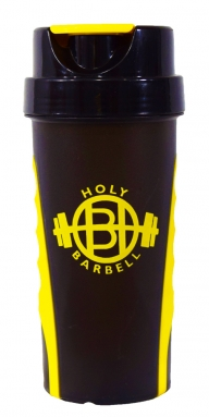 Yellow Gym Shaker Bottle with grip</br>